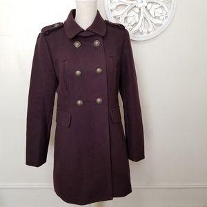 Loft size 6 military pea coat